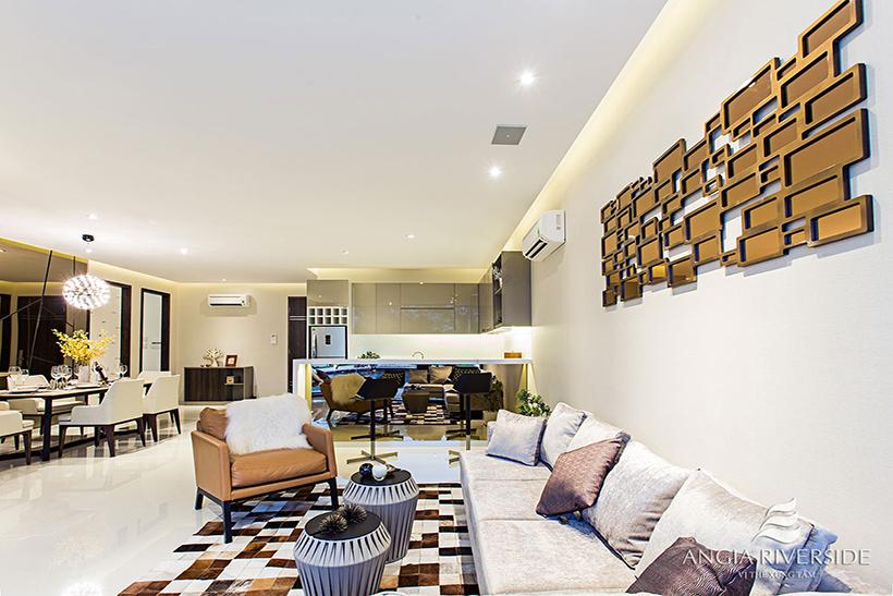 Căn hộ mẫu dự án căn hộ AnGia Riverside - Chủ đầu tư căn hộ An Gia