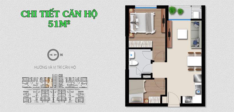 Mặt bằng căn hộ AnGia Riverside Quận 7 - Chủ đầu tư căn hộ An Gia