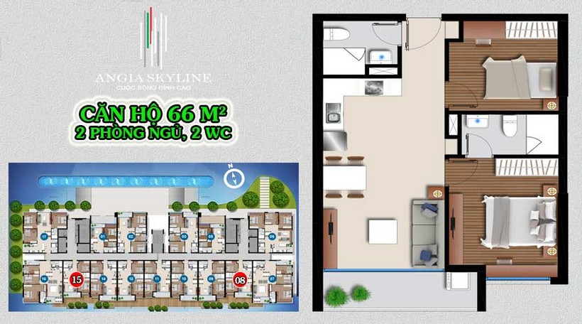 Mua Bán Cho Thuê Dự Án Căn Hộ Chung Cư An Gia Skyline Đường Hoàng Quốc Việt Quận 7 LH 0909509679