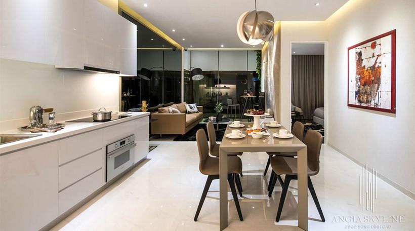 Căn hộ mẫu 65m2 dự án căn hộ River City Quận 7- Chủ đầu tư căn hộ An Gia