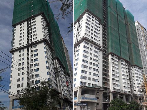 Cập nhật tiến độ xây dựng căn hộ Angia Skyline Quận 7 tháng 4/2017