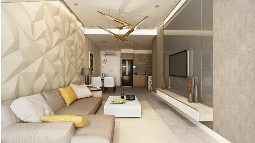 nhà mẫu căn hộ LuxGarden Quận 7