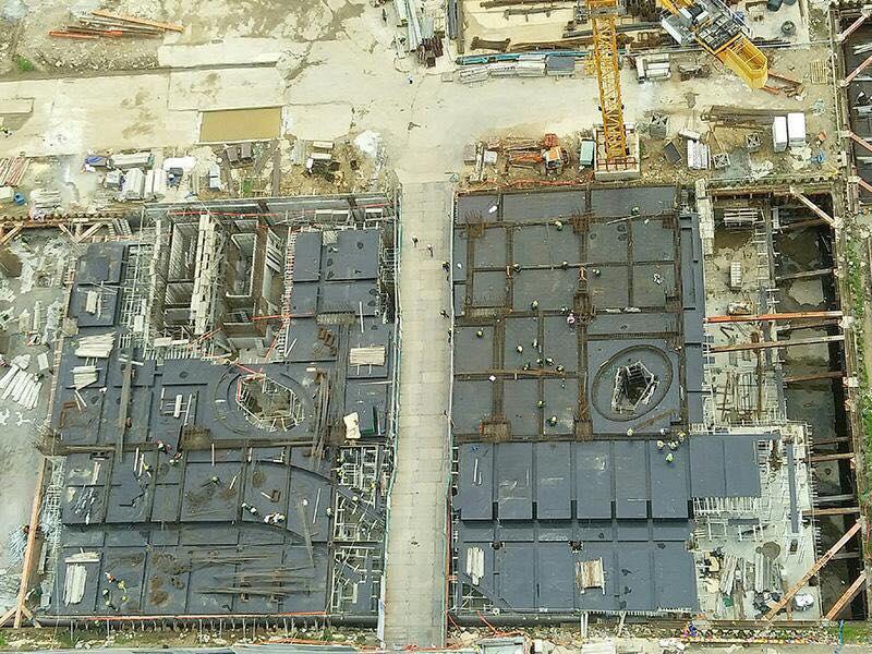 Cập nhật tiến độ xây dựng căn hộ River Panorama tháng 8.2018