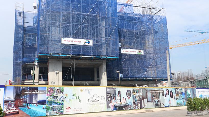 Cập nhật tiến độ xậy dựng dự án HaDo Centrosa Garden Quận 10 tháng 5/2017