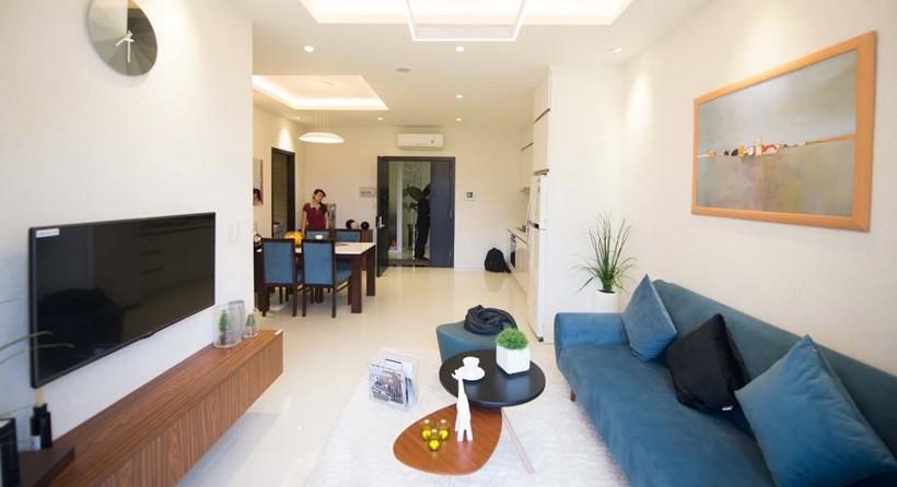Căn hộ mẫu 63m2 dự án căn hộ The Garden- Chủ đầu tư căn hộ An Gia