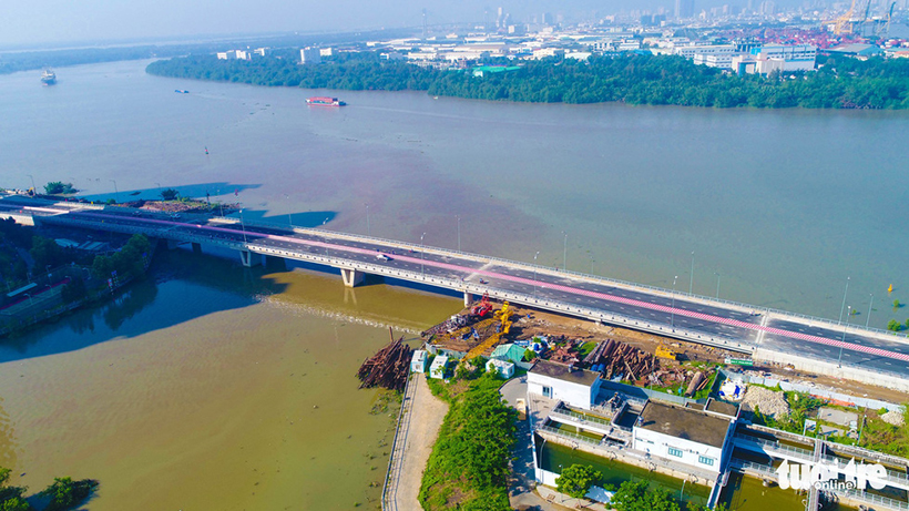 TP.HCM thông xe cầu qua đảo Kim Cương khiến bất động sản Quận 2 tăng giá