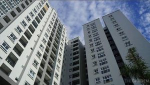 Cho thuê căn hộ The Garden 2PN, có NT, giá 8tr, gần Aeon Mall và sân bay