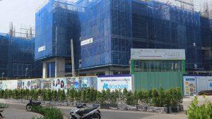 Cập nhật tiến độ xây dựng dự án HaDo Centrosa Garden Quận 10 tháng 5/2017