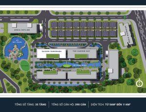 Mặt bằng thiết kế căn hộ River Panorama Quận 7