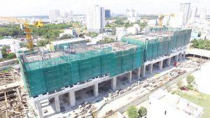 Cập nhật tiến độ xây dựng căn hộ River Panorama Quận 7 tháng 3.2019