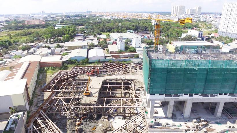 Tiến độ dự án căn hộ chung cư River Panorama Quận 7 Đường Hoàng Quốc Việt chủ đầu tư An Gia