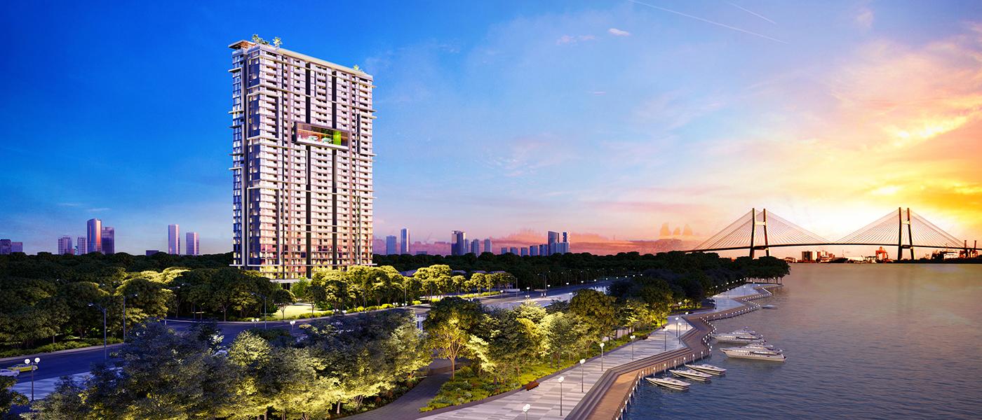 Thiết kế dự án căn hộ chung cư Sky 89 Quận 7 Đường Đào Trí chủ đầu tư An Gia