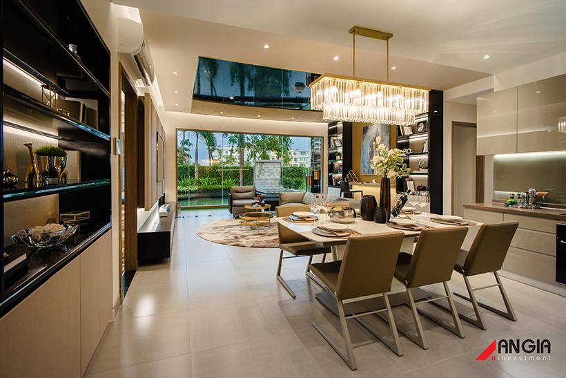 Nội thất dự án căn hộ chung cư Sky 89 Đường Hoàng Quốc Việt Quận 7 chủ đầu tư An Gia LH 0909509679
