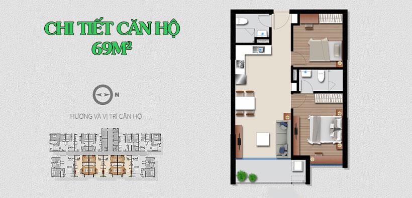 Thiết kế dự án căn hộ chung cư An Gia Riverside Quận 7 Đường Đào Trí chủ đầu tư An Gia Investment