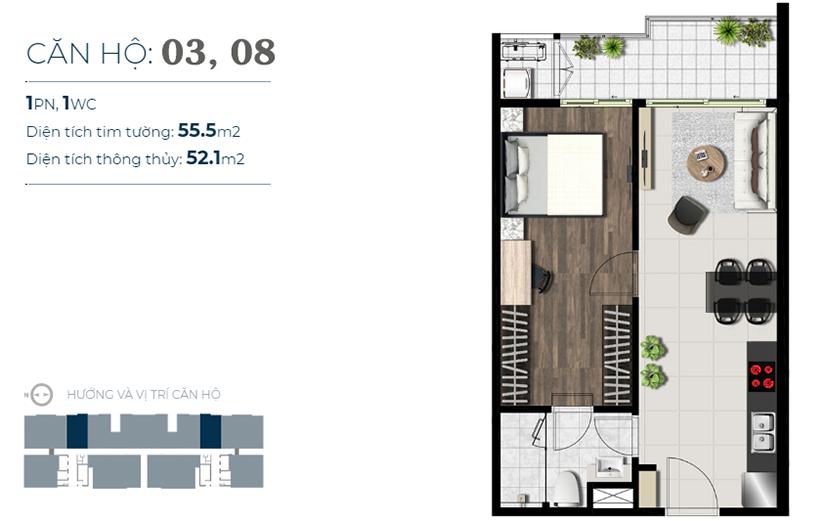 Thiết kế dự án căn hộ Sky 89 Quận 7 Đường Hoàng Quốc Việt chủ đầu tư An Gia
