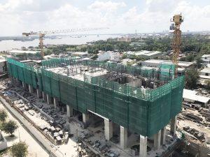 Cập nhật tiến độ xây dựng căn hộ River Panorama Quận 7 tháng 2.2019