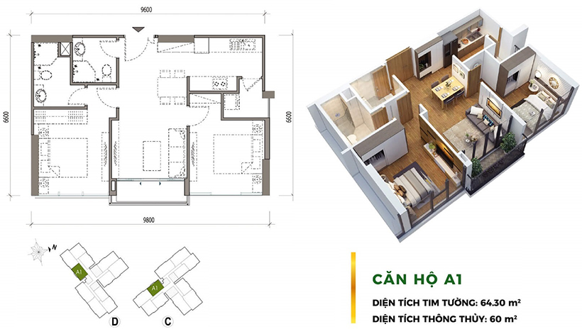 Thiết kế dự án căn hộ chung cư Eco Green Sài Gòn Quận 7 Đường Nguyễn Văn Linh chủ đầu tư Xuân Mai
