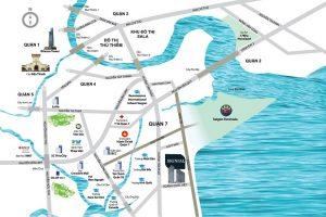 Vị trí địa chỉ dự án căn hộ Signial Quận 7