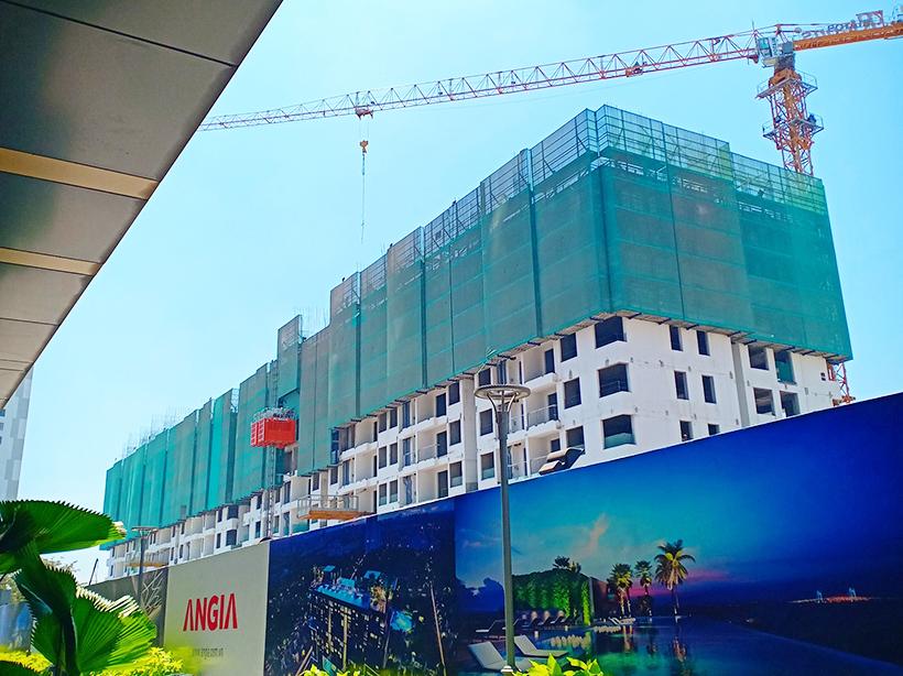 Cập nhật tiến độ xây dựng dự án căn hộ River Panorama Quận 7 tháng 4.2019