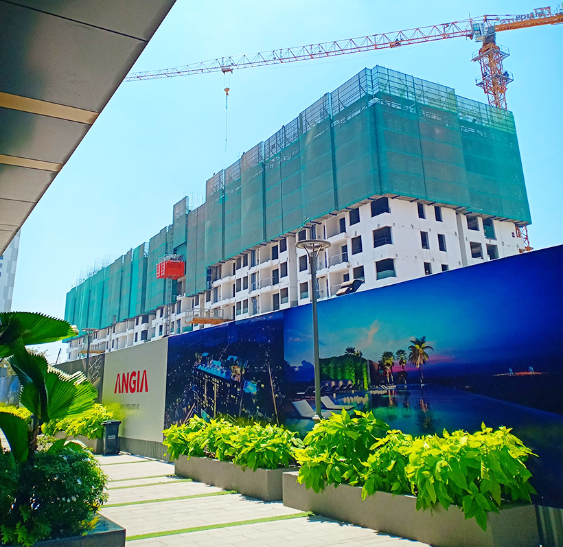 Tiến độ xây dựng dự án căn hộ chung cư River Panorama Quận 7 ngày 2.4.2019