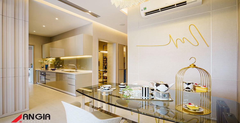 Nhà mẫu dự án căn hộ chung cư Sky 89 Quận 7 Đường Hoàng Quốc Việt chủ đầu tư An Gia