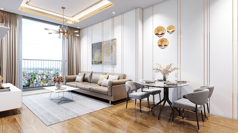 Nhà mẫu dự án căn hộ chung cư Eco Green Sài Gòn Quận 7 Đường Nguyễn Văn Linh chủ đầu tư Xuân Mai