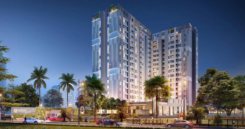 Phối cảnh dự án căn hộ chung cư Saigon Asiana Quận 6 Đường Nguyễn Văn Luông chủ đầu tư Gotec Land