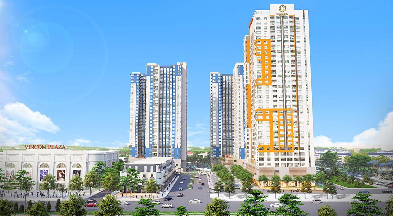 Phối cảnh dự án căn hộ chung cư Charm City Bình Dương Đường DT743 chủ đầu tư DCT GROUP