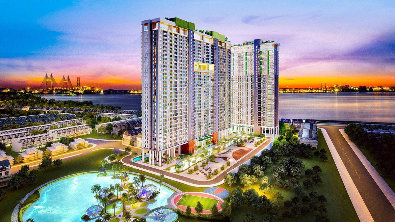 Quy mô dự án căn hộ chung cư River Panorama Quận 7 Đường Hoàng Quốc Việt chủ đầu tư An Gia Investment