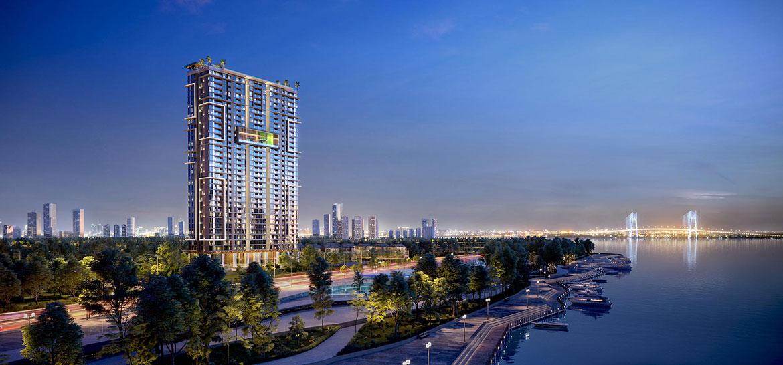 Quy mô dự án căn hộ chung cư Sky 89 Quận 7 Đường Hoàng Quốc Việt chủ đầu tư An Gia