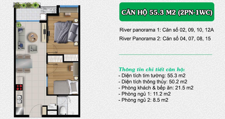Thiết kế dự án căn hộ chung cư River Panorama Quận 7 Đường Hoàng Quốc Việt chủ đầu tư An Gia Investment liên hệ 0909509679