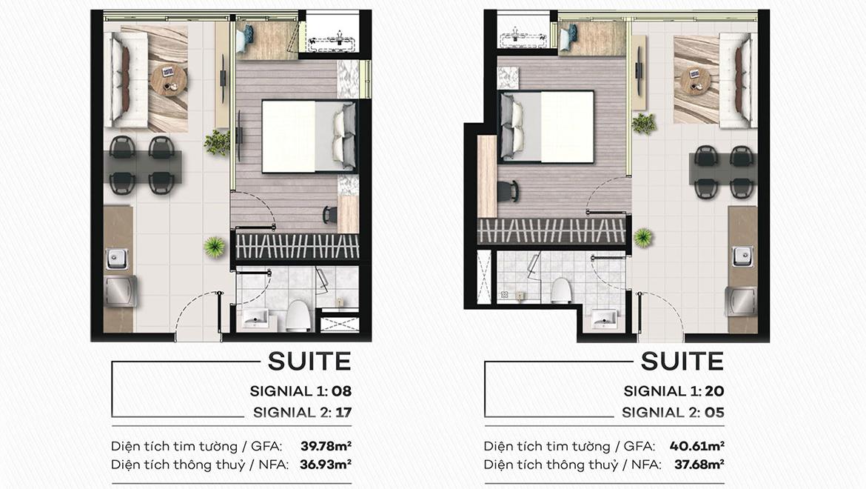 Thiết kế dự án căn hộ chung cư Signial Quận 7 Đường Hoàng Quốc Việt chủ đầu tư An Gia