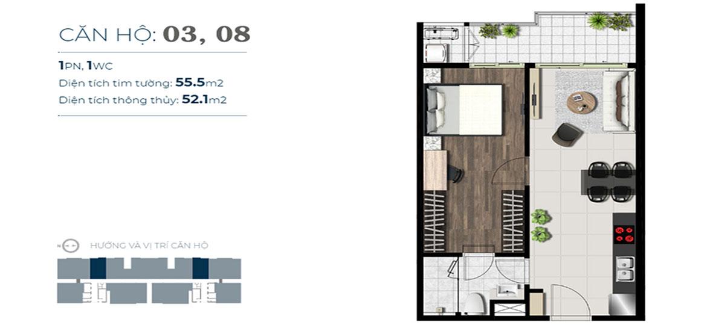 Thiết kế dự án căn hộ chung cư Sky 89 Quận 7 Đường Hoàng Quốc Việt chủ đầu tư An Gia
