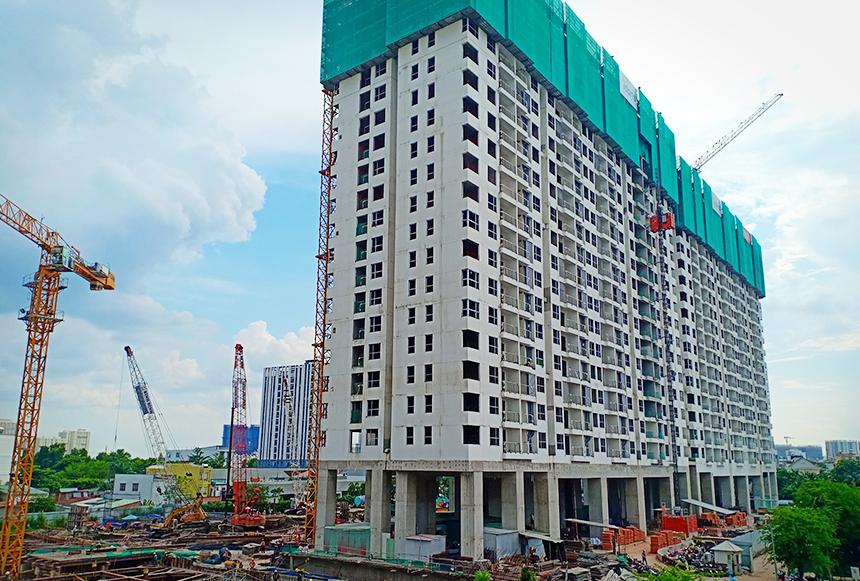Cập nhật tiến độ xây dựng dự án căn hộ River Panorama Quận 7 tháng 7.2019