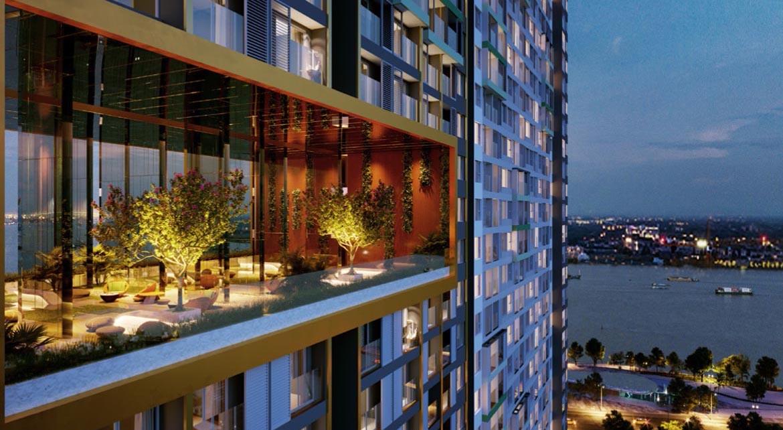 Tiện ích dự án căn hộ chung cư Signial Quận 7 Đường Hoàng Quốc Việt chủ đầu tư An Gia