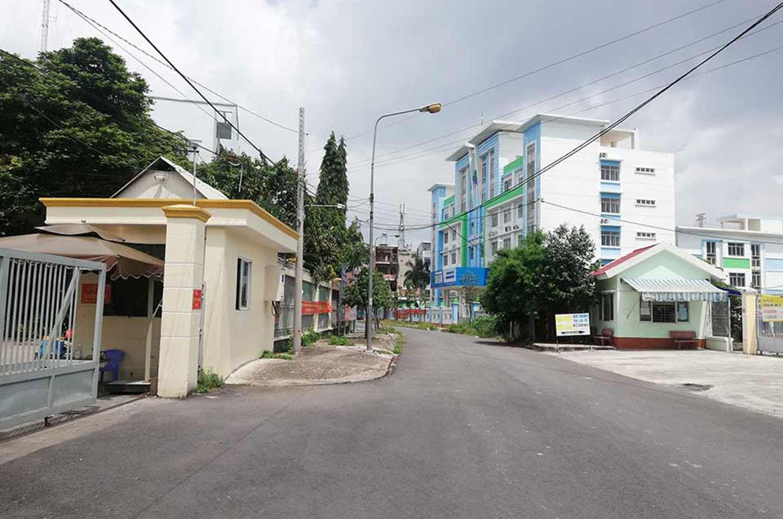 Hình ảnh thực tế khu dân cư Rich Paradise Quận Bình Tân liên hệ 0909509679