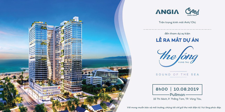 Tập đoàn An Gia ra mắt dự án căn hộ The Sóng Vũng Tàu ngày 10.8.2019