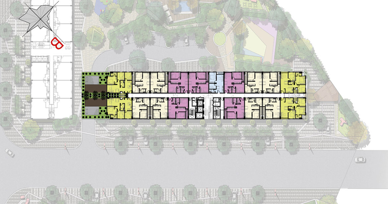 Mặt bằng dự án căn hộ chung cư PiCity High Park Quận 12 Đường Thạnh Xuân chủ đầu tư Pi Group