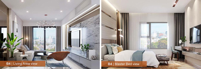 Nhà mẫu dự án căn hộ chung cư AIO City Quận Bình Tân Đường Tên Lửa chủ đầu tư Hoa Lâm
