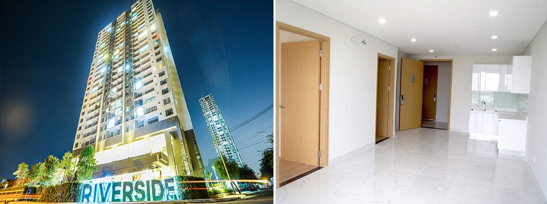 Nhà mẫu dự án căn hộ chung cư Riverside Quận 7 Đường Đào Trí chủ đầu tư An Gia Investment