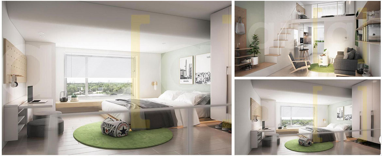 Nhà mẫu dự án căn hộ chung cư The Alleys Quận Bình Tân Đường Lê Văn Quới chủ đầu tư TTL Group