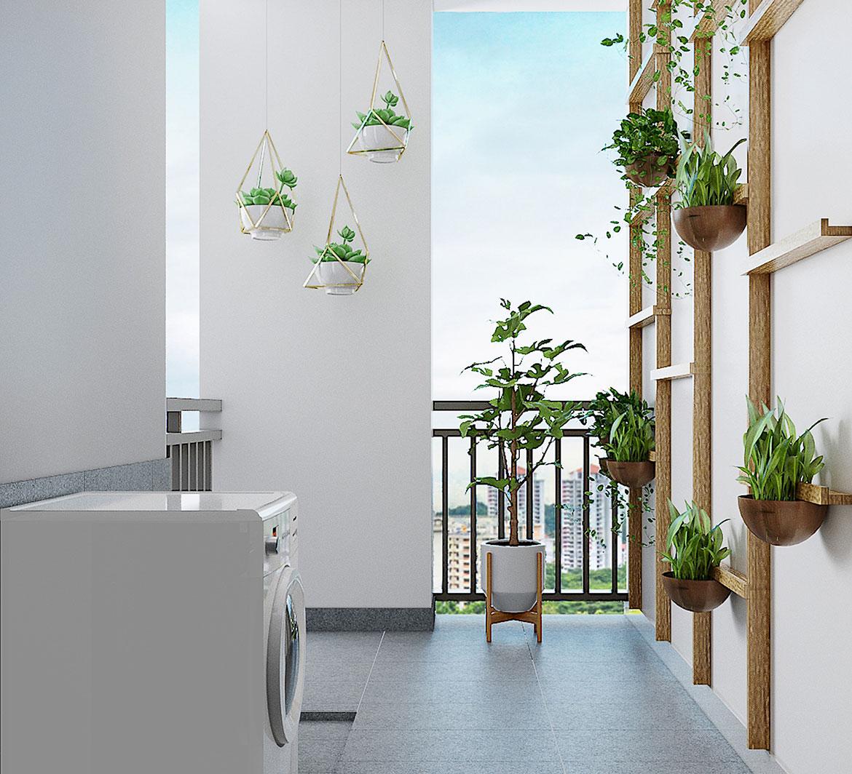 Nhà mẫu dự án căn hộ chung cư Picty High Park Đường Thạnh Xuân Quận 12
