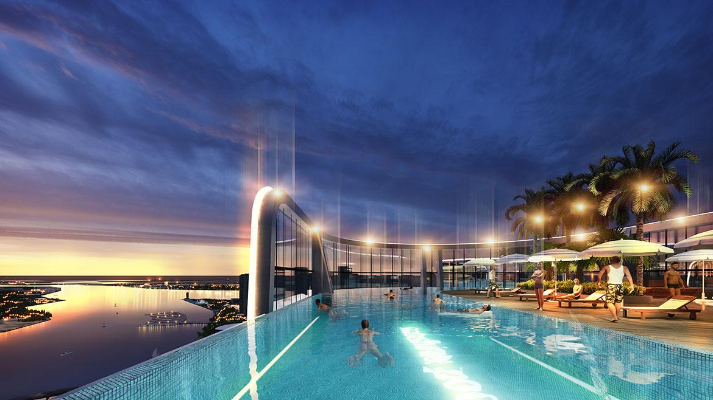 Phối cảnh tiện ích dự án căn hộ chung cư sunshine diamond river quận 7 đường đào trí
