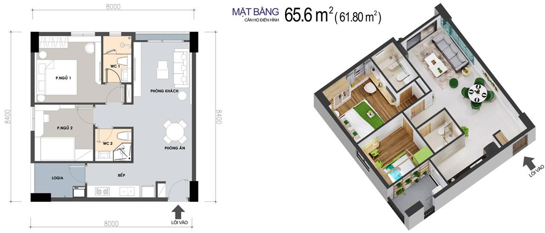 Thiết kế dự án căn hộ chung cư PiCity High Park Quận 12 Đường Thạnh Xuân chủ đầu tư Pi Group