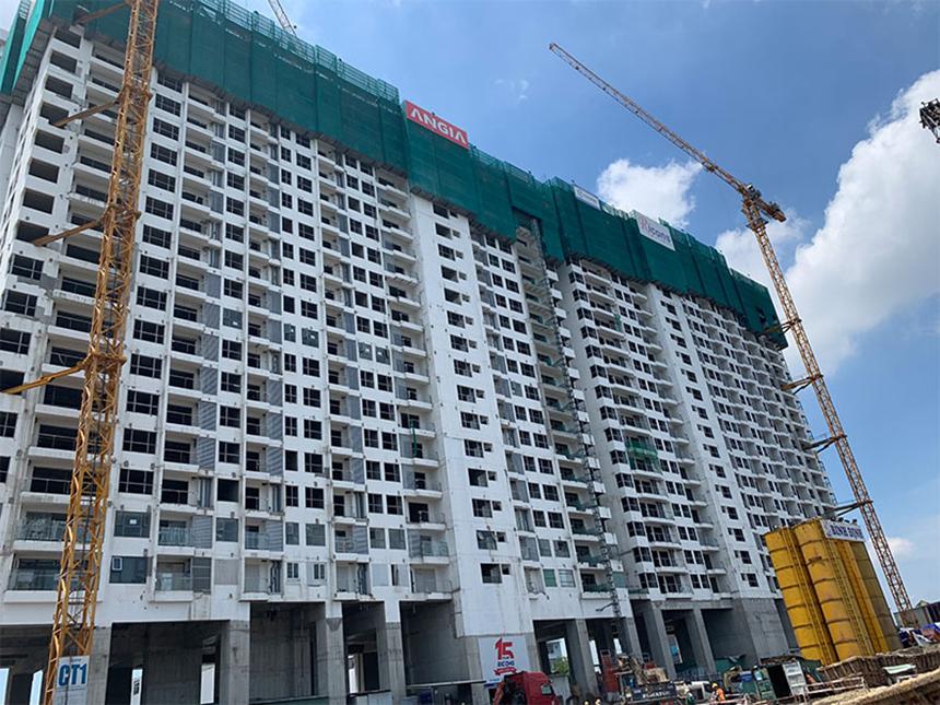 Cập nhật tiến độ xây dựng dự án căn hộ River Panorama Quận 7 tháng 8.2019