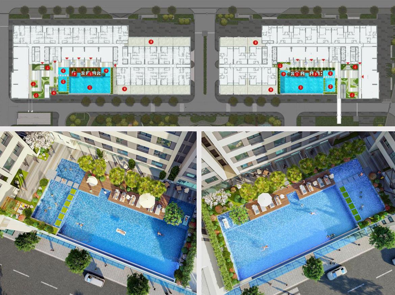 Tiện ích dự án căn hộ chung cư AIO City Quận Bình Tân Đường Tên Lửa chủ đầu tư Hoa Lâm