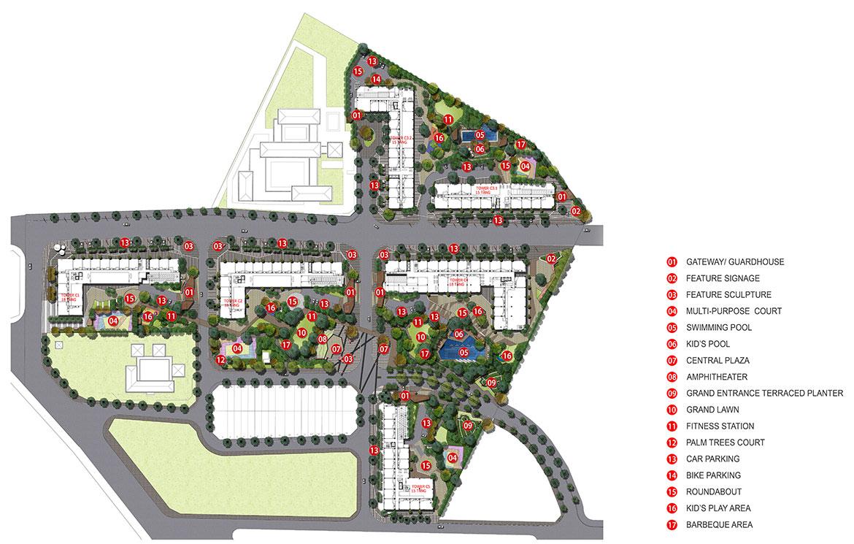 Tiện ích dự án căn hộ chung cư PiCity High Park Quận 12 Đường Thạnh Xuân chủ đầu tư Pi Group