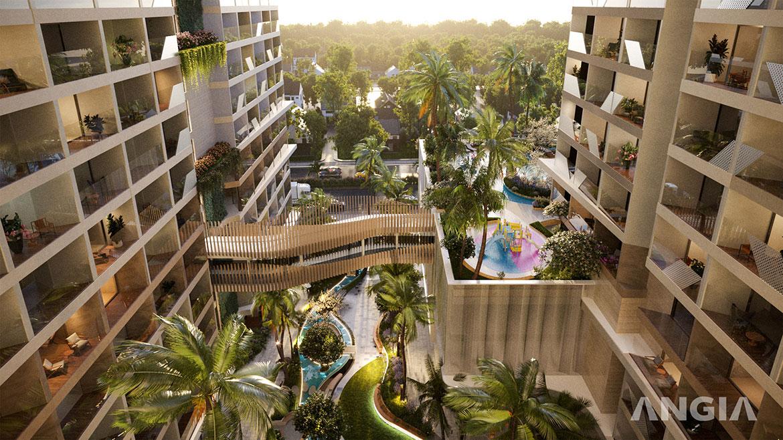 Tiện ích dự án căn hộ du lịch The Sóng Vũng Tàu Đường Thi Sách chủ đầu tư An Gia