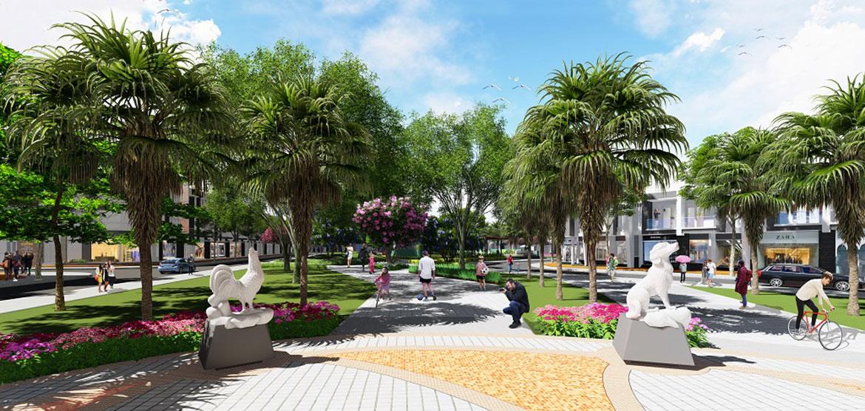 Tiện ích dự án nhà phố Richhome 3 Bình Dương Đường Hùng Vương chủ đầu tư Kim Oanh Group