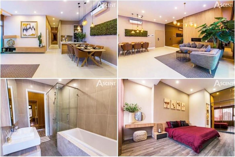 Nhà mẫu dự án căn hộ chung cư Ascent Garden Homes Quận 7 Đường Bến Nghé chủ đầu tư Tiến Phát
